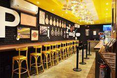 black & yellow restaurant - Google Search