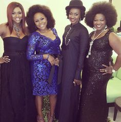 NIGERIAN TOP SECRET: Stars step out in style for Creative Industry even...