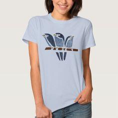 Three Birds T Shirt, Hoodie Sweatshirt