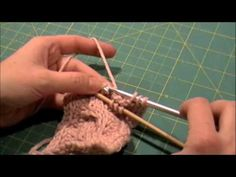 Tunisian Crochet Cabled Scarf Video Tutorial