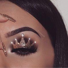 Hooded Eye Makeup – Great Make Up Ideas Makeup Eye Looks, Beautiful Eye Makeup, Eye Makeup Art, Crazy Makeup, Cute Makeup, Skin Makeup, Eyeshadow Makeup, Disney Eye Makeup, Makeup Style