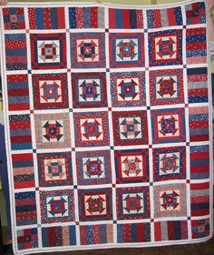 Patriotic Overload - Dash to the Finish - class with Debbie Caffery - house decor for us