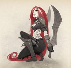 Katarina from League Of Legends fan art