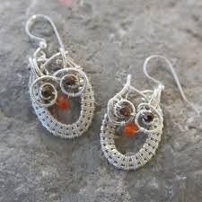 Resultado de imagem para wire wrapped owl pendant