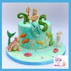 All made using Katy Sue Design moulds Sea Cakes, Under The Sea, Birthday Cake, Desserts, Design, Art, Tailgate Desserts, Art Background, Deserts