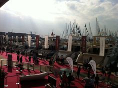 Azimut Exposition in Genoa Boat Show 2013