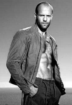 Jason Statham. Not your typical pretty boy but there is something about him...