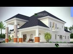 Construction of a Bungalow with pent Modern Bungalow House Plans, Duplex House Plans, My House Plans, Bungalow Floor Plans, Classic House Exterior, Classic House Design, Unique House Design, Architect Design House, Bungalow House Design