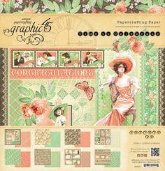 "Designerblock ""Time to Celebrate"", 30,5 x 30,5cm - Hobby-Crafts24.eu"