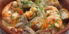 Receta de GastroCanarias. Cazuela de pescado.. Pincha en la imagen para ver la receta