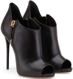 Giuseppe Zanotti Design 'Malika' Booties in Black