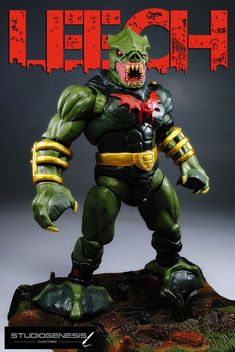 LEECH evil master of power suction!!! (Masters of the Universe) Custom Action Figure