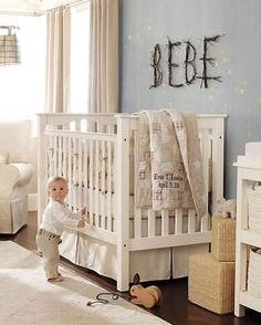 Love the idea of doing the child's name in branches and old twigs from outside. It'd be so easy. @Liz Gillit, what do you think?