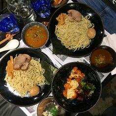Dip Ramen #tsukemen #curry #goma #sesame #soysauce #broth #chashu #pork #bambooshoots #seaweed #noodle #egg #chicken #nanban #kyushuu #sweetandsour #tartare #mixedsalad #salad #japanese #japanesefood #japanesestyle #dinner #dinnerinmelbourne by tongpattie