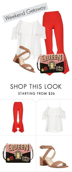 """""""it's weekend"""" by feliciamia on Polyvore featuring BB Dakota, Dolce&Gabbana and Nine West"""