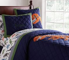 Dylan Quilted Bedding #pbkids