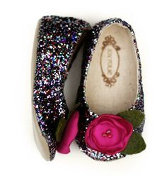 sparkly baby shoes!!!