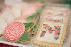 Floral Sugar Cookies | karaspartyideas.com