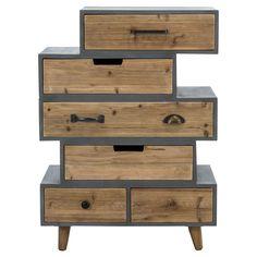 Holz Sideboard Daylight in Braun ungewöhnlich | Meisterstück ...