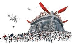 Milano, metropoli globale raccontata da Moleskine. Con la matita di Stanga