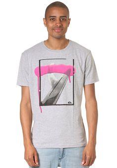 QUIKSILVER G4 S/S T-Shirt light grey heat #planetsports