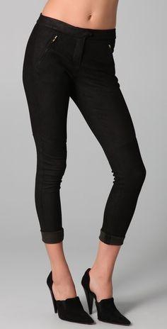 A.L.C Jess Stretch Leather Pants, Shop Bop