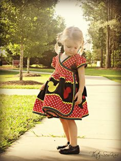 Bubblegum Swing Dress Addon PDF Pattern door CandyCastlePatterns