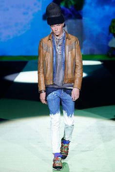 Dsquared² Spring 2016 Menswear Fashion Show: Complete Collection - Style.com