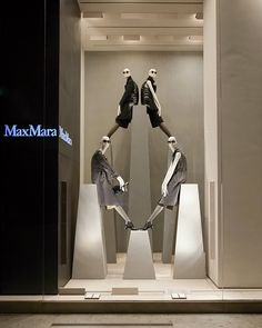 Max Mara windows 2014 Fall, Milan – Italy window display