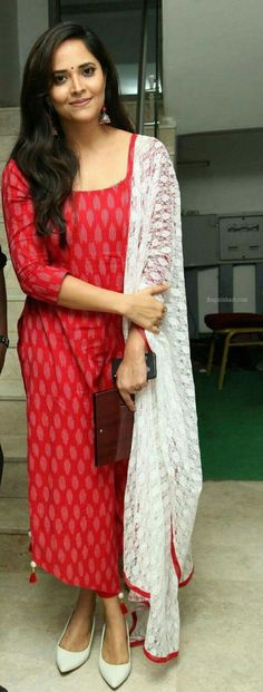 45 Trendy Ideas for dress indian ikkat Salwar Designs, Simple Kurti Designs, Kurta Designs Women, Kurti Designs Party Wear, Salwar Kameez Neck Designs, Long Dress Design, Dress Neck Designs, Blouse Designs, Chudithar Neck Designs