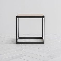 Murray square industrial style Side Table
