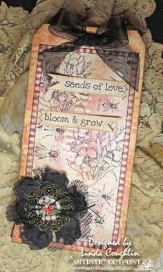Tag seeds of love bloom and grow