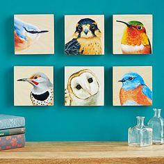 Bird Art Portrait