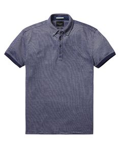 Dress Polo Shirt  - Scotch & Soda