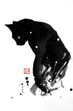 chat patouille