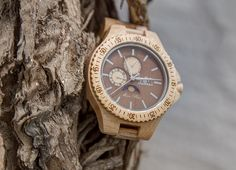 Apollo WoodMoon Orologio in legno - Wooden Watches - Watch made of wood.