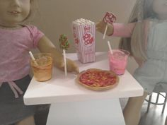 18 inch doll food, available on ebay