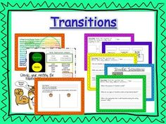 This extensive unit is about transition words. Day Sequence events as a… Teaching Grammar, Teaching Spanish, School Resources, Learning Resources, Teaching Critical Thinking, Transition Words, Conscious Discipline, Word Work Activities, Secondary Teacher