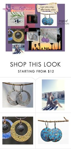 Tropical Paradise by artbymarionette on Polyvore featuring Wildfox, jewelry, handmade, shopsmall, EtsySpecialT and SpecialTweek