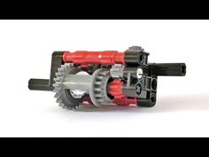 Lego Micro Automatic Gearbox Instructions - Lego Technic Mastery - YouTube