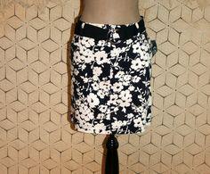 Casual Midi Skirts Petite Large Black & White by MagpieandOtis