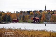 Autumn near Borgvik. Ack Värmeland du sköna. Sweden.