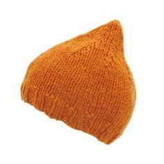 とんがり帽子(キッズ3~4歳) | 無料ハンドメイドレシピと手作り作品の作り方|レシパ Knitted Hats, Knit Crochet, Knitting Patterns, Beanie, Tejidos, Knit Patterns, Knit Caps, Crochet, Cable Knitting Patterns