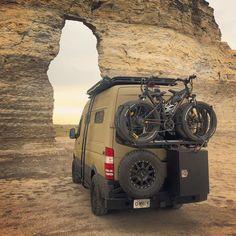 The 27 best RVs and camper vans - Camper Life Truck Camper, 4x4 Camper Van, Kombi Motorhome, Off Road Camper, Camper Life, Sprinter Motorhome, Mercedes Sprinter Camper, Stealth Camping, Camper Van Conversion Diy