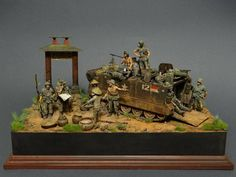MTSC Daily Inspirational - Creativity Catch it! 1/35th Scale Vietnam Diorama. www.michtoy.com