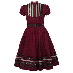 Buy now the new Lena Hoschek Tradition collection at the online shop! African Dresses For Women, African Print Dresses, African Print Fashion, Africa Fashion, African Fashion Dresses, South African Traditional Dresses, Traditional Outfits, Shweshwe Dresses, Vestidos