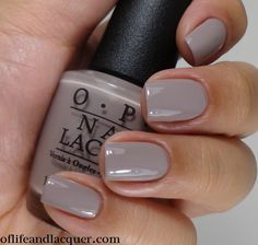 OPI: ★ Taupe-less Beach ★ OPI Brazil Collection Spring / Summer 2014