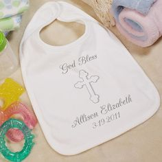 Personalized baby bibs with baby's name & birth/born date. Adorable baby bibs make great gifts for newborn babies or expectant mother's baby showers & the Christmas Holiday. Little Babies, Cute Babies, First Communion Gifts, Personalized Baby Gifts, Christening Gifts, Newborn Baby Gifts, Mother And Baby, Baby Bibs, Baby Names