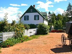 Green Gables in Cavendish, Prince Edward Island!! The real Green Gables in Cavendish, Prince Edward Island. The farm was owned by the McNeil family, who were cousins of author Lucy Maud Montgomery.