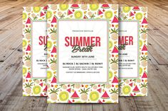 Excited to share the latest addition to my #etsy shop: Summer Break Flyer, Summer Event Flyer, Summer Festival Flyer Template, Photoshop, Elements & MS Word Template, Instant Download https://etsy.me/2smcBTo #papergoods #summerparty #summerfestival #partyflyer #invitat
